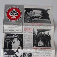 Cine: AS FILMS, PERIÓDICO DE INFORMACIÓN CINEMATOGRÁFICA Nº 42 - AGOSTO 1961. Lote 214365981