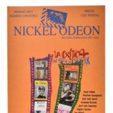 Cine: NICKEL ODEON. REVISTA TRIMESTRAL DE CINE, N.º 23. MONOGRÁFICO: LA CRÍTICA DE CINE. NUEVO. Lote 286553613