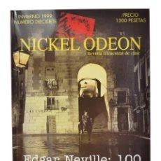 Cine: NICKEL ODEON. REVISTA TRIMESTRAL DE CINE, N.º 17. MONOGRÁFICO EDGAR NEVILLE: 100. NUEVO. Lote 233468595