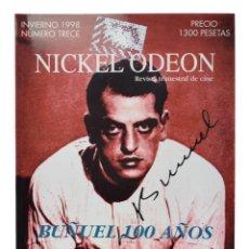 Cine: NICKEL ODEON. REVISTA TRIMESTRAL DE CINE, N.º 13. MONOGRÁFICO: LUIS BUÑUEL. NUEVO. Lote 240171175