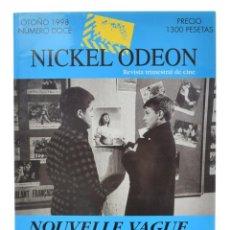 Cine: NICKEL ODEON. REVISTA TRIMESTRAL DE CINE, N.º 12. MONOGRÁFICO NOUVELLE VAGUE: CUARENTA AÑOS. NUEVO. Lote 214580243