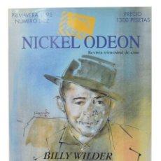 Cinéma: NICKEL ODEON. REVISTA TRIMESTRAL DE CINE, N.º 10. MONOGRÁFICO: BILLY WILDER. Lote 214580685