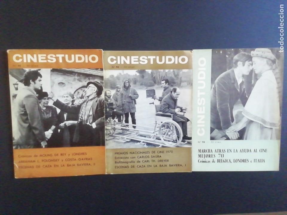 REVISTA CINESTUDIO NUMEROS 93 94 95 (Cine - Revistas - Otros)