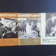 Cine: REVISTA CINESTUDIO NUMEROS 93 94 95. Lote 214622923