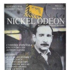 Cine: NICKEL ODEON. REVISTA TRIMESTRAL DE CINE, N.º 5. MONOGRÁFICO: COMEDIA ESPAÑOLA-ALFREDO LANDA. Lote 214679675