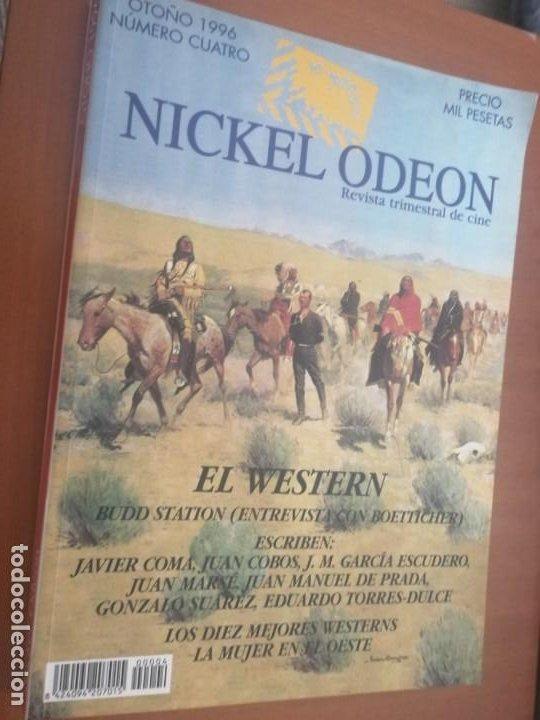 NICKEL ODEON 4. REVISTA GRAN TOMO DE CINE. BUEN ESTADO. SOBRE WESTERN. (Cine - Revistas - Otros)