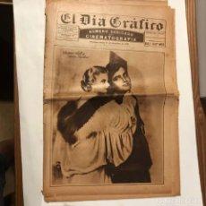 Cinéma: EL DIA GRAFICO 11 DICIEMBRE 1930 NUMERO DEDICADO A LA CINEMATOGRAFIA JAMES HALT JEAN HARLOW. Lote 215111728