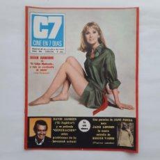 Cine: ANTIGUA REVISTA CINE EN 7 DIAS Nº 446 1969 EL FUGITIVO JULIO IGLESIAS MISSES CINE. Lote 215901262