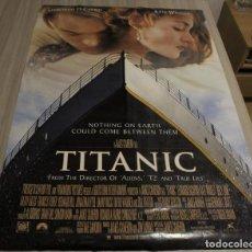 Cine: CARTEL POSTER CINE PELICULA TITANIC DE JAMES CAMERON CON LEONARDO DICAPRIO Y KATE WINSLET.. Lote 216010535