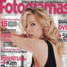 Cine: FOTOGRAMAS Nº 1933 - NOVIEMBRE 2004 (KIM BASINGER). Lote 216420035
