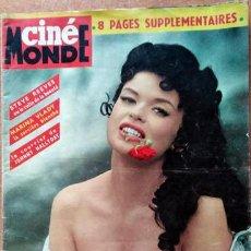 Cine: REVISTA CINÉMONDE JAYNE MANSFIELD. Lote 216514801