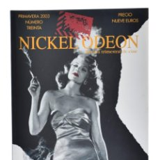 Cine: NICKEL ODEÓN. REVISTA TRIMESTRAL DE CINE, N.º 30. MONOGRÁFICO: CINE Y HUMO. NUEVO. Lote 216518601