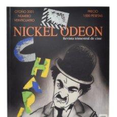 Cine: NICKEL ODEON. REVISTA TRIMESTRAL DE CINE, N.º 24. MONOGRÁFICO: CHARLES CHAPLIN. NUEVO. Lote 216518633