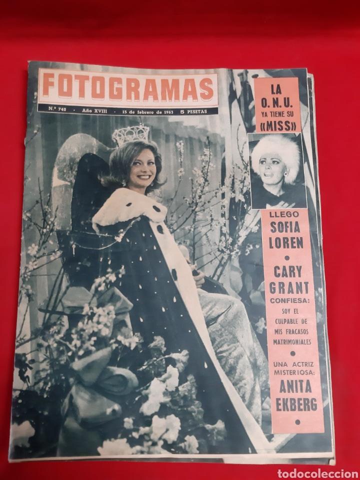 Cine: FOTOGRAMAS LOTE 4 REVISTAS AÑOS 1963 - Foto 2 - 216613285