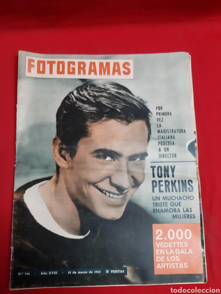Cine: FOTOGRAMAS LOTE 4 REVISTAS AÑOS 1963 - Foto 3 - 216613285
