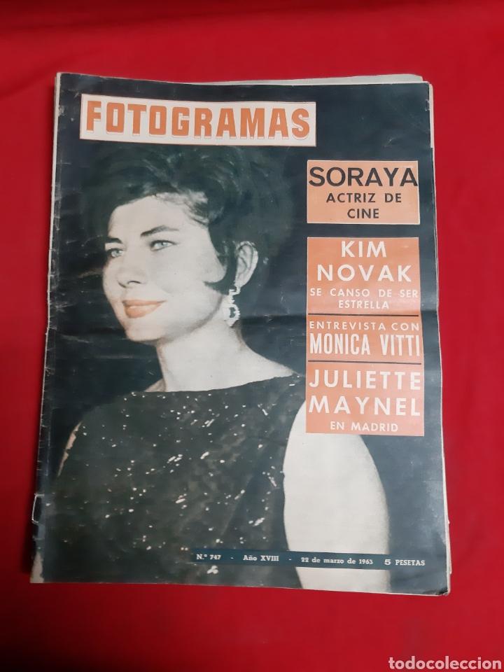 Cine: FOTOGRAMAS LOTE 4 REVISTAS AÑOS 1963 - Foto 5 - 216613285
