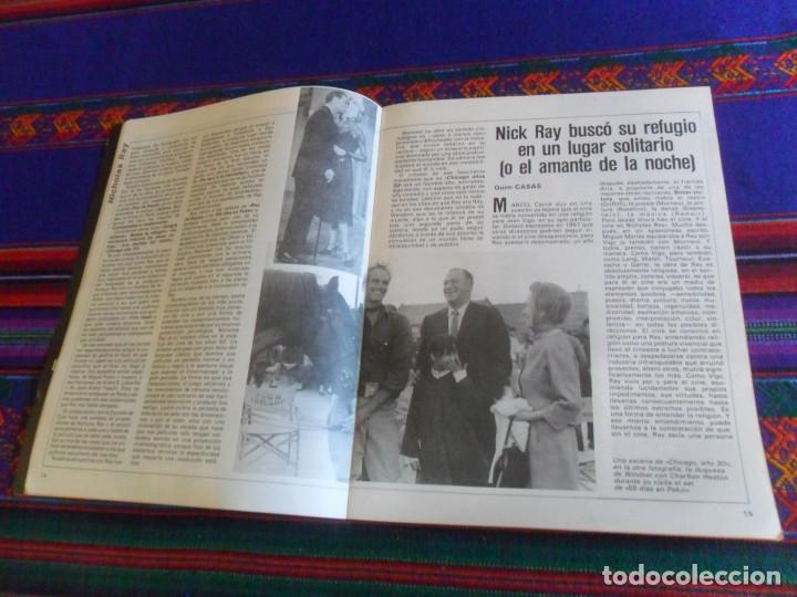 Cine: CINE NUEVO VERANO 1986. EL BESO DE LA MUJER ARAÑA NICHOLAS RAY, FELLINI, BIGAS LUNA ARREBATO. RARA. - Foto 3 - 216691707