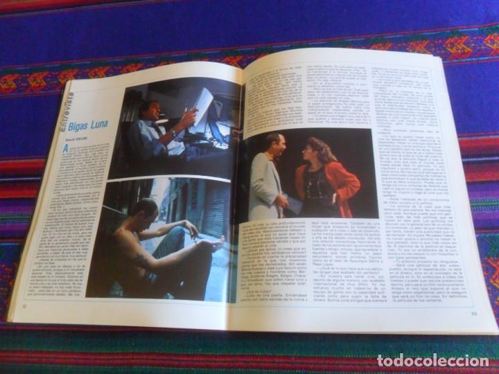 Cine: CINE NUEVO VERANO 1986. EL BESO DE LA MUJER ARAÑA NICHOLAS RAY, FELLINI, BIGAS LUNA ARREBATO. RARA. - Foto 5 - 216691707