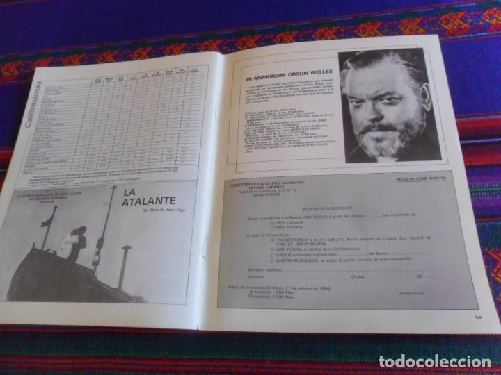Cine: CINE NUEVO VERANO 1986. EL BESO DE LA MUJER ARAÑA NICHOLAS RAY, FELLINI, BIGAS LUNA ARREBATO. RARA. - Foto 6 - 216691707