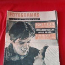 Cine: FOTOGRAMAS LOTE DE 4 REVISTAS AÑO 1963. Lote 216697765