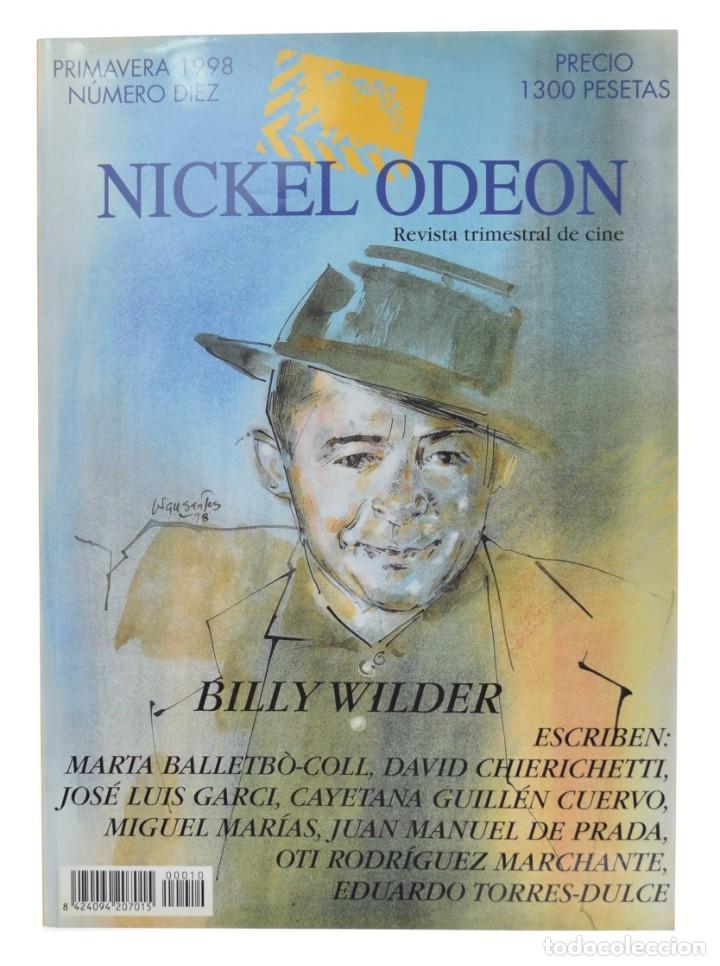 NICKEL ODEON. REVISTA TRIMESTRAL DE CINE, N.º 10. MONOGRÁFICO: BILLY WILDER (Cine - Revistas - Nickel Odeon)