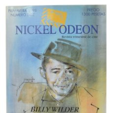 Cine: NICKEL ODEON. REVISTA TRIMESTRAL DE CINE, N.º 10. MONOGRÁFICO: BILLY WILDER. Lote 216927096