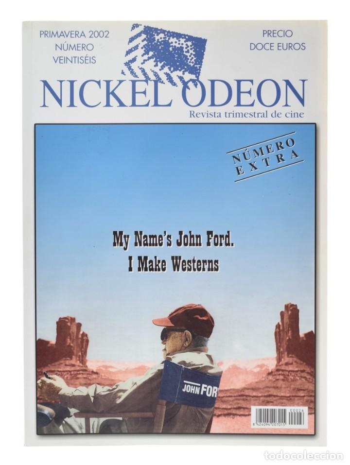 NICKEL ODEÓN. REVISTA TRIMESTRAL DE CINE, N.º 26. MONOGRÁFICO: JOHN FORD. NUEVO (Cine - Revistas - Nickel Odeon)