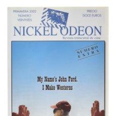 Cine: NICKEL ODEÓN. REVISTA TRIMESTRAL DE CINE, N.º 26. MONOGRÁFICO: JOHN FORD. NUEVO. Lote 216927227