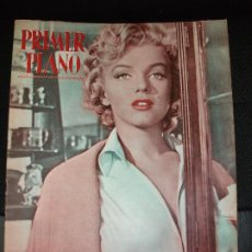 Cinema: MARILYN MONROE REVISTA PRIMER PLANO DE CINE 1953. Lote 217138876