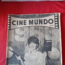 Cine: CINE MUNDO LOTE DE 3 REVISTAS AÑO 1963. Lote 217264377