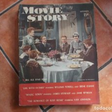 Cinema: MOVIE STORY VOL-23 Nº 161, ROBERT YOUNG MARGUERITE CHAPMAN,JANET LEIGH, VAN JOHNSON,. Lote 217337752