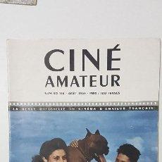 Cine: REVISTA CINÉ AMATEUR - Nº 134 - AGOSTO 1950. Lote 217379986