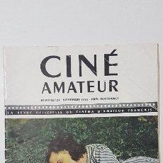 Cine: REVISTA CINÉ AMATEUR - Nº 137 - NOVIEMBRE 1950. Lote 217380058