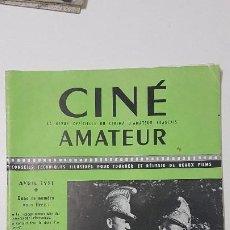 Cine: REVISTA CINÉ AMATEUR - Nº 142 - ABRIL 1951. Lote 217380153