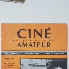 Cine: REVISTA CINÉ AMATEUR - Nº 143 - MAYO 1951. Lote 217380236