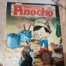 Cine: ANTIGUA REVISTA WALT DISNEY HOME VIDEO - PINOCHO - 1987. Lote 217390327