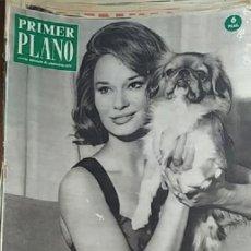 Cine: PRIMER PLANO -- Nº 1097 -- 22/ 10 / 1961 -- LEA MASSARI. Lote 217409901