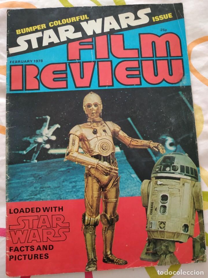 FILM REVIEW FEBRUARY 1978 STAR WARS (Cine - Revistas - Otros)