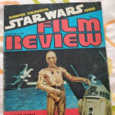 Cine: FILM REVIEW FEBRUARY 1978 STAR WARS. Lote 217416580