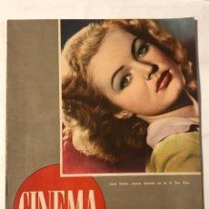 Cine: CINEMA 15 JUNIO 1946 AÑO 1 NUM 6 . JUNE HAVER JUANITA REINA, PEGGY ANN GARNER. Lote 217460512