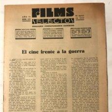 Cine: FILMS SELECTOS NUM 253 24 AGOSTO 1935. Lote 217468587