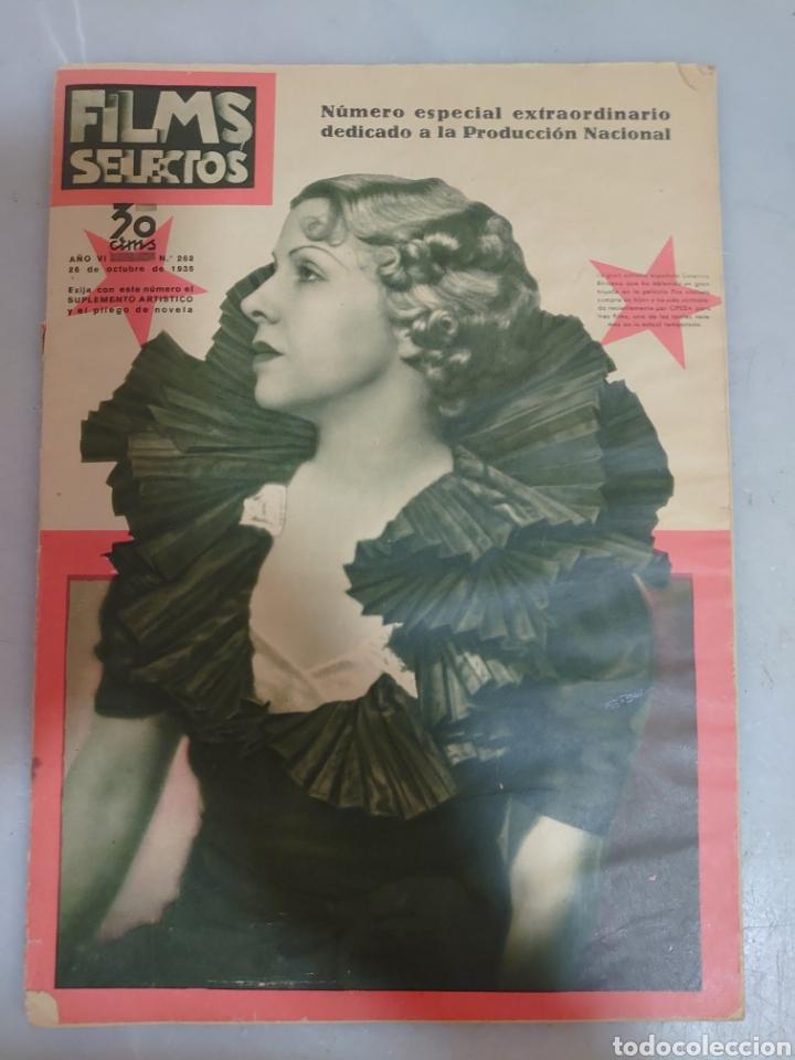 REVISTA FILMS SELECTOS NÚMERO 262 AÑO 1935 (Cine - Revistas - Films selectos)