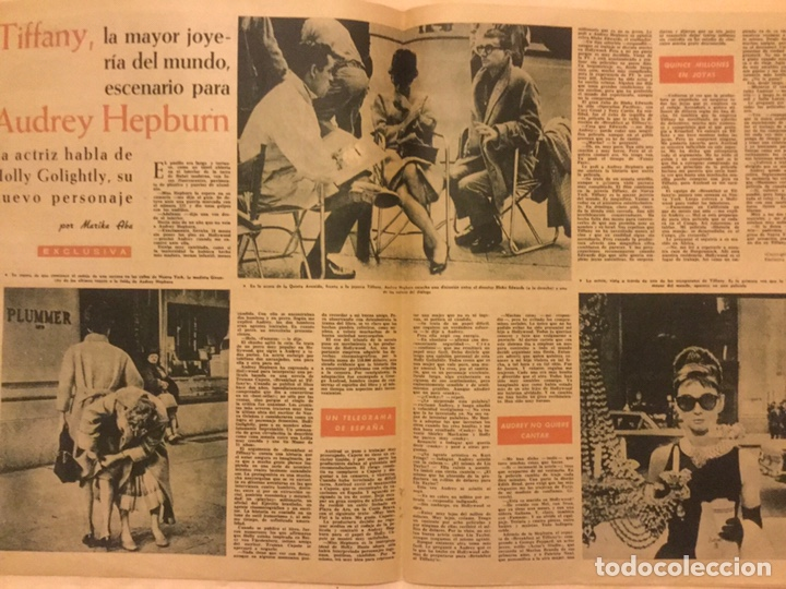 Cine: FOTOGRAMAS Nº 623 4 DICIEMBRE 1960 JEANNE VALERIE, AUDREY HEPBURN, BARRYMORE, TIFFANY - Foto 2 - 217529293