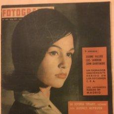 Cine: FOTOGRAMAS Nº 623 4 DICIEMBRE 1960 JEANNE VALERIE, AUDREY HEPBURN, BARRYMORE, TIFFANY. Lote 217529293