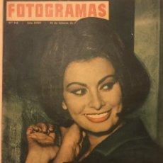 Cine: FOTOGRAMAS Nº 743 FEBRERO 1963 SOFIA LOREN PAUL ANKA. Lote 217529521