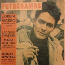 Cine: FOTOGRAMAS Nº 752 ABRIL 1963 GRETA GARBO SHELLEY WINTERS. Lote 217529773