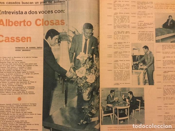 Cine: FOTOGRAMAS Nº 791 13 DICIEMBRE 1963 ELKE SOMMER INGRID BERGMAN - Foto 2 - 217531610