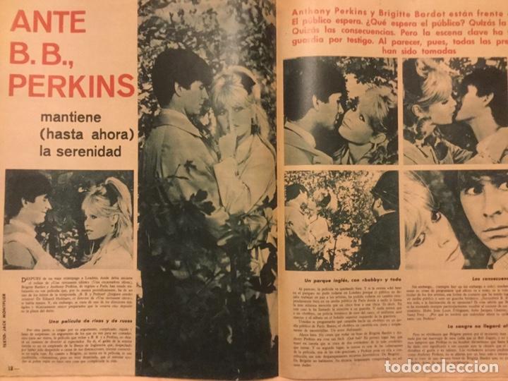 Cine: fotogramas nº 793 DICIEMBRE 1963 Francisco Paco Rabal gianna maria canale B.B. TONY PERKINS - Foto 3 - 217531801