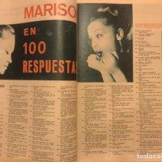 Cine: FOTOGRAMAS Nº 792 NAVIDAD 1963 FRANK SINATRA MARISOL. Lote 217532426