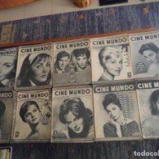 Cine: GRAN PRECIO, LOTE 37 REVISTA CINE MUNDO ENTRE EL Nº 420 Y EL 508. 1960. 5 PTS.. Lote 217593003